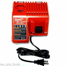 GENUINE NEW Milwaukee M12 M18 18V Battery CHARGER 48-59-1812 Lithium 12 18 Volt