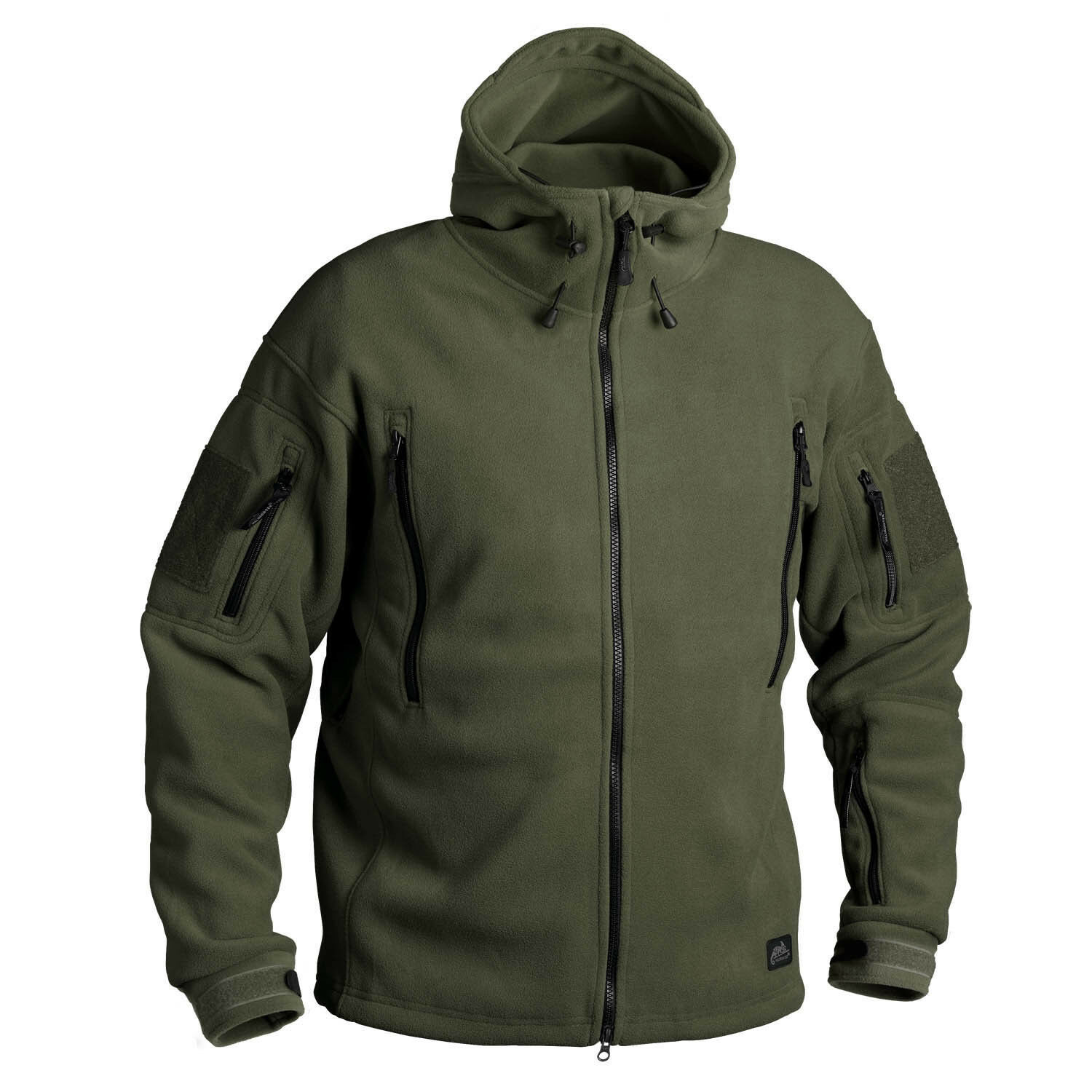 HelikonTEX PATRIOT HEAVY FLEECE all'aperto Con Cappuccio Giacca Jacket verde Oliva, SSmtutti