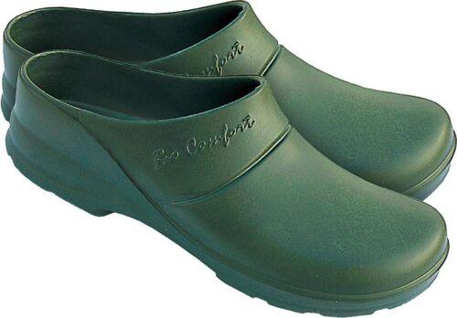 Clogs Gartenclogs Gartenschuhe Grün 37-46 leicht Schuhe Badenschuhe LEMIGO EVA
