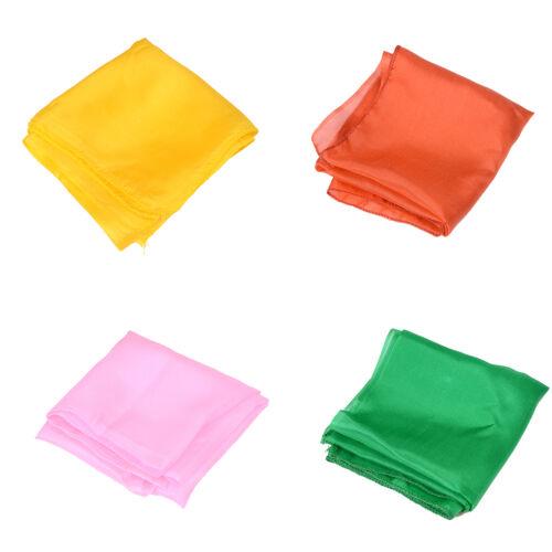 6pcs//lot 45*45cm Tricks /& Magic silk for Change Color Silk Scarf*For Play SU
