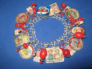 UNIQUE CAMPBELL/'S TOMATO SOUP NECKLACE mixed up dolly SPOON charm POP ART warhol