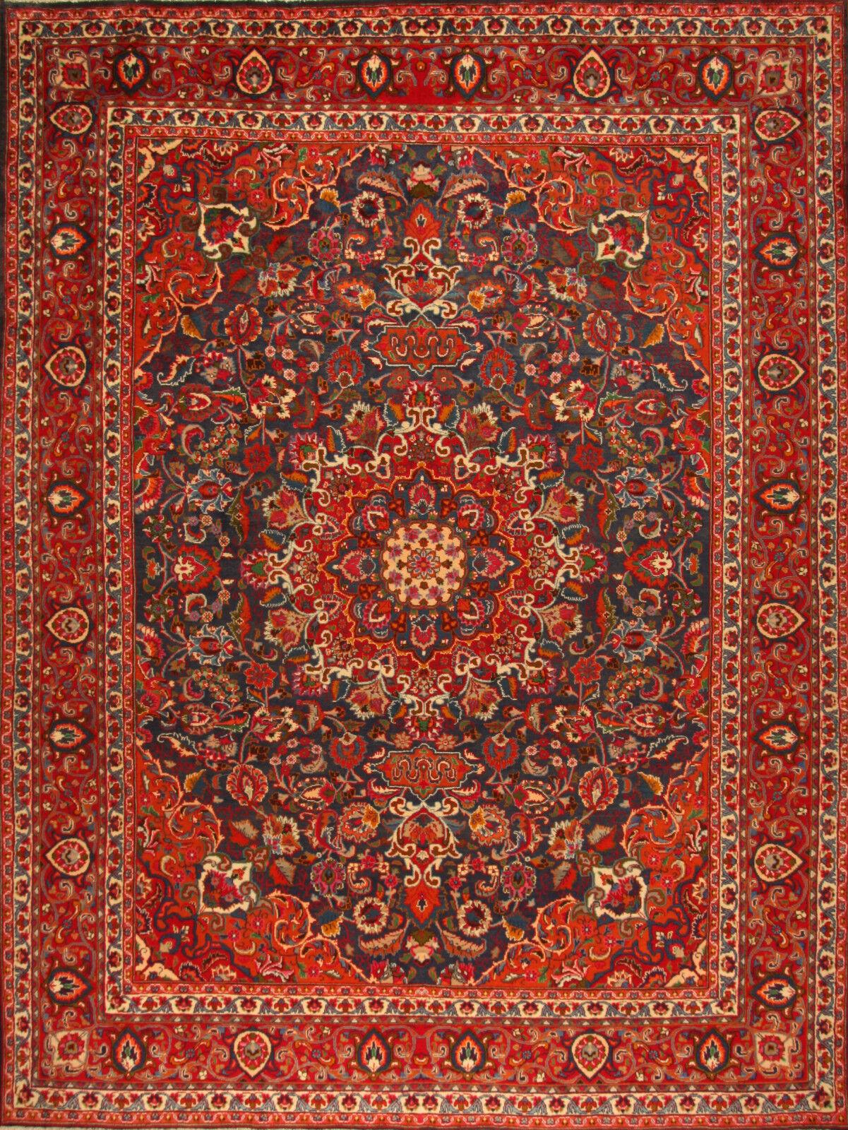 TAPPETO TAPPETO TAPPETO Orientale Vero Annodato Tapis persan (385 x 290) cm Ottimo Stato 3672 14d7cf