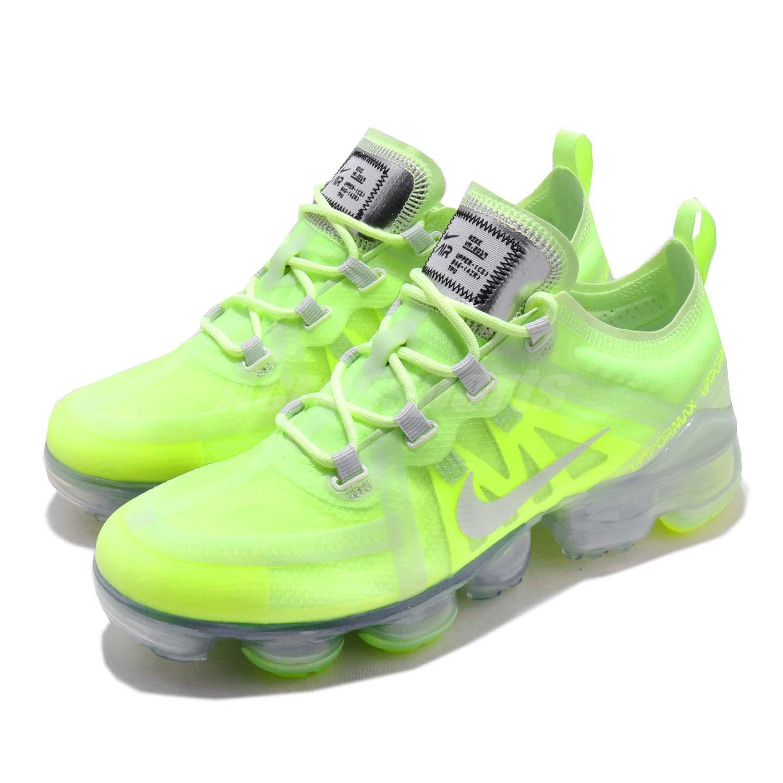 Nike Wmns Air Vapormax 2019 Volt Glow Spruce Aura Women Running shoes AR6632-700