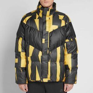 Details zu Nike Sportswear Down Jacket CHOOSE SIZE 928889 752 Parka Fill Yellow Black