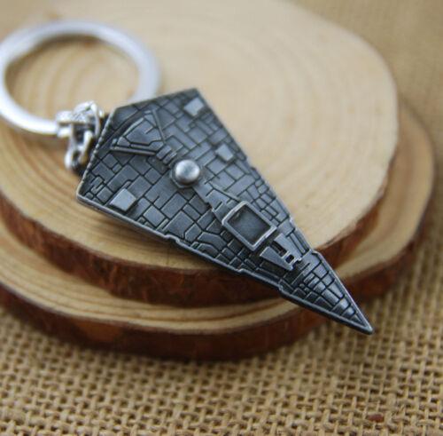 Star Wars Star Destroyer Ship Metal Keyring KeyChain Gift Idea For Star Wars Fan