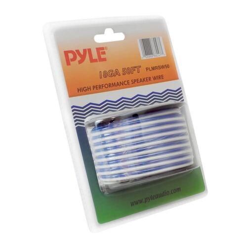 Pyle PLMRSW50 18 Gauge 50 FT Stereo Marine Boat Grade Speaker Wire