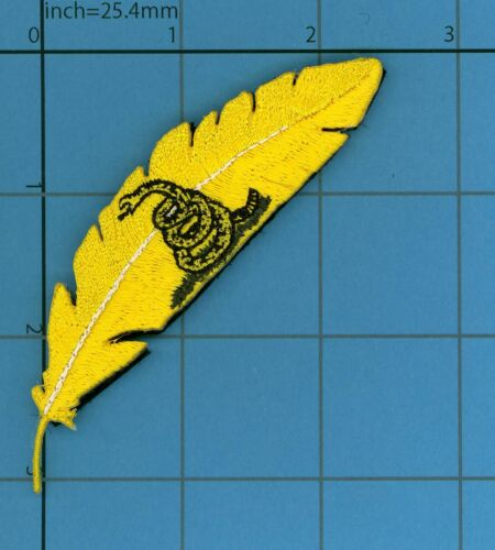 FEATHER GASDEN FLAG Patch Proud Quill Eagle Spirit Gods Tactical DO NOT