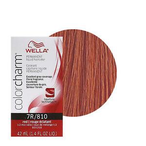 Wella Color Charm Permament Liquid Hair Color 42ml Red 810