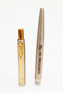 Personalised Engraved Parker Jotter Gold GT Ball Pen Gold Trim Gift Box NEW
