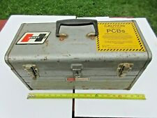 Craftsman 18 Tool Box With Tray Early 1980s Vintage Steel Tool Box