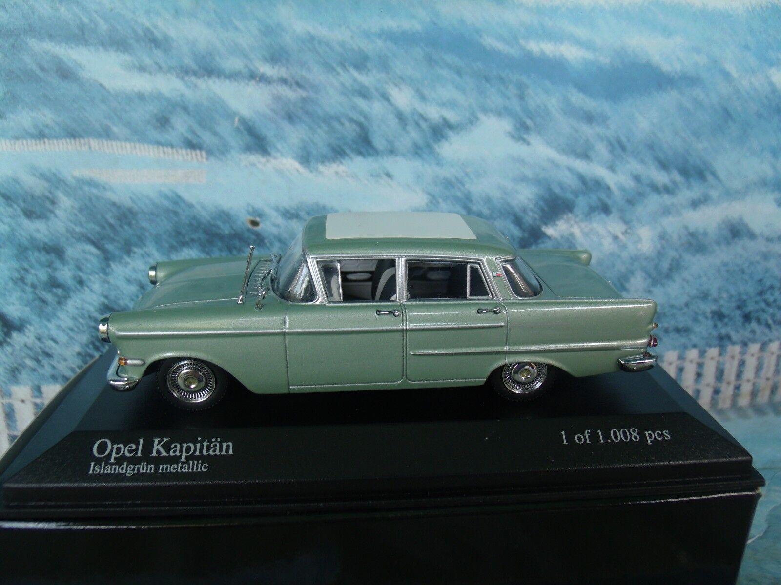 benvenuto a comprare 1 43  Minichamps Opel Opel Opel Kapitan 1959  1 of 1008  vanno a ruba