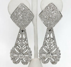 Diamond-drop-earrings-18K-white-gold-round-brilliant-encrusted-3-30CT-26-3G-2-5-034