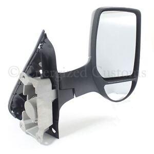Ford Transit Van Mk6 2000-2006 Manual Short Arm Wing Door Mirror Drivers Side