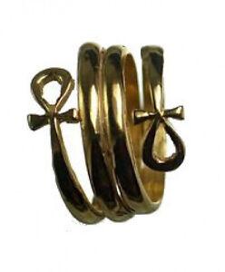 24kt-Gold-Plated-Egyptian-Eternal-Life-Ankh-Ring-Egypt