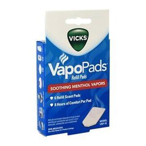 Vicks Vapopads Refill Pads Refill Vsp 19 Soothing Menthol