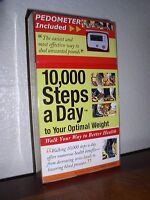 10,000 Steps A Day To Your Optimal Weight By Greg Isaacs (pb,2006)