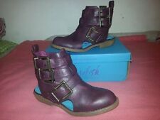 Blowfish Altered State Cut Out Buckle Boots SANDALS SIZE UK4