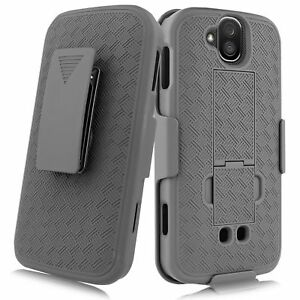 For-Kyocera-Duraforce-Pro-Slim-Shell-Holster-Combo-Case-Belt-Clip-Kickstand