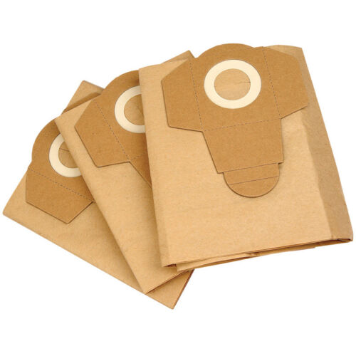 5 X VACUUM CLEANER BAGS TO FIT TACKLIFE PVC01A WET AND DRY VACUUM CLEANER  33544