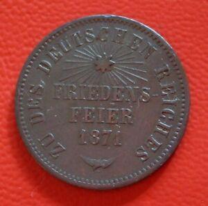 1-Kreuzer-Bathe-1871-Friedrich-I-Old-German-States-km-253
