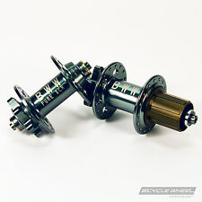 Pure XCR MTB Disc Gray Hub Set, Mountain Bike, Sealed Bearing 8/9/10 Speed 32H