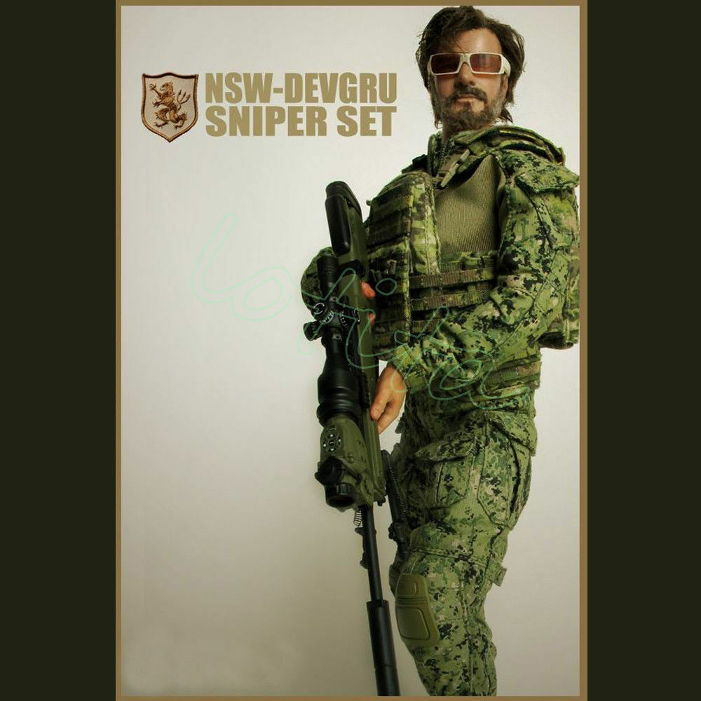 ZYTOYS 1/6 Scale NSW-DEVGRU Sniper Set SEAL + SNIPER for 12