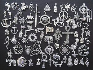 TIBETAN SILVER COLOUR BOHO ELEPHANT PENDANTS 5,10,20 JEWELLERY MAKING CHARMS