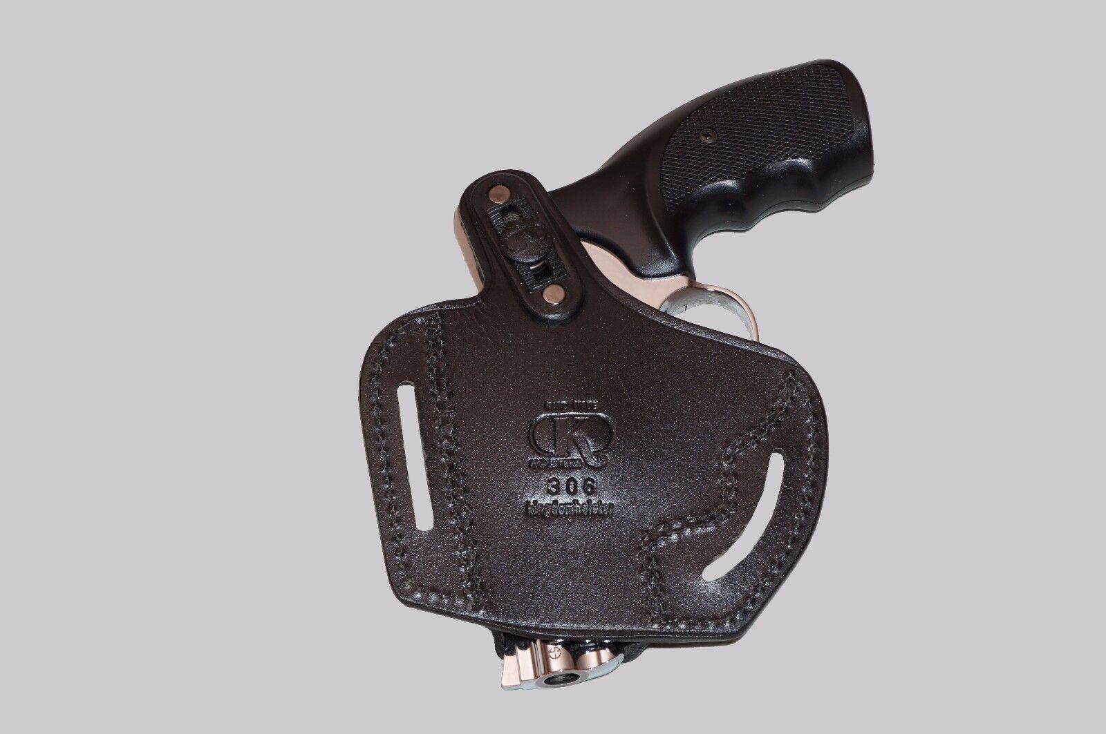 K30637-357 Pancake Holster Open-end RH & Single Single Single Speedloader Case For 357 Magnum 6ced2b