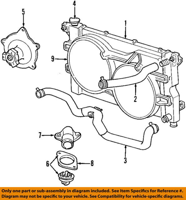 Genuine Mopar Water Pump 68382491aa For Sale Online