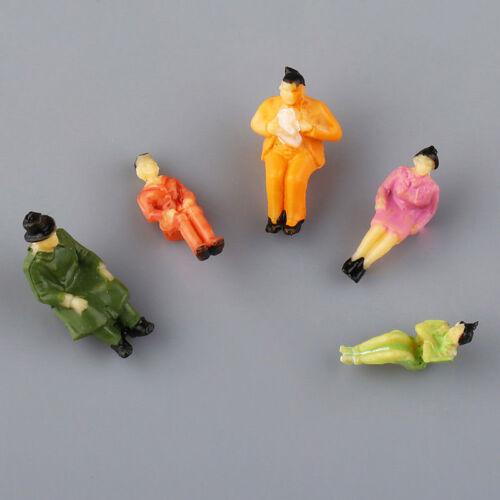 1:87 Sand Tisch Zug Menschen Figuren Maßstab Modell Bösewicht Painted Modell MG3
