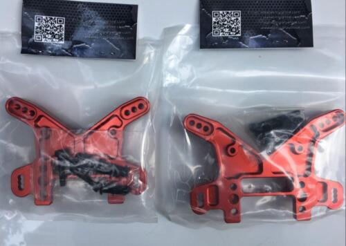 Area RC CNC alloy front rear shock tower bracket for Losi DBXL DBXL-e 1//5th