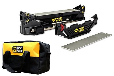 Con Borsa! Work Sharp Guided Sharpening System Schärfgerät Affilacoltelli Usa- Facile Da Lubrificare