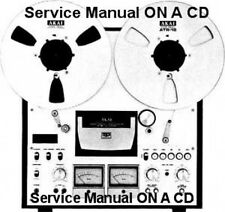 AKAI GX-630D STEREO TAPE DECK SERVICE MANUAL ON CD