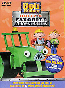 Bob-the-Builder-Roley-039-s-Favorite-Adventures-DVD-2004-Brand-New-Sealed