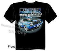 1969 Camaro T Shirt 69 Chevy Tee Muscle Car Apparel Detroit Iron M L Xl 2xl 3xl