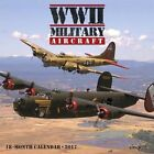 2017 WWII Military Aircraft Mini Wall Calendar by Phil Wallick 9781682342855