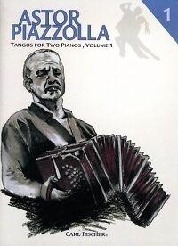 Constructif Piazzolla Tango Pour Deux Pianos Vol 1-afficher Le Titre D'origine