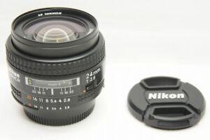 034-EXCELLENT-034-Nikon-AF-Nikkor-24mm-f2-8-Weitwinkel-Objektiv-fuer-F-Mount-201123p