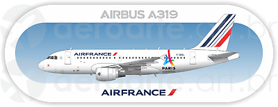 AIRBUS A319 FINNAIR AIRCRAFT POSTER 20x36 HI RES 9MIL PAPER