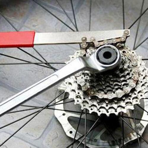 Mountain Bike Cassette Freewheel Chain Whip Sprocket Lock Remover Repair Tool