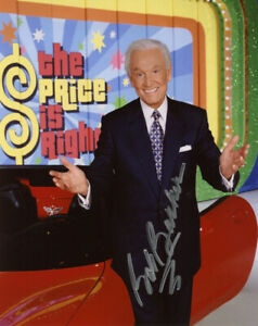 BOB-BARKER-SIGNED-AUTOGRAPHED-8x10-PHOTO-THE-PRICE-IS-RIGHT-LEGEND-BECKETT-BAS