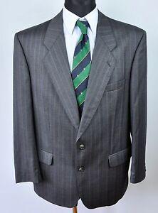 BAUMLER-Wool-Tartan-Textured-Blazer-UK-44-Jacket-Coat-Suit-EU-54-Gr-Sakko-Herren