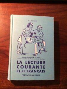 Details Sur A Souche La Lecture Courante Et Le Francais Ce2 Cm1 Nathan 1959 Eo