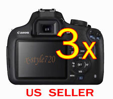3x Clear LCD Screen Protector Guard Shield Film For Canon EOS 1200D / Rebel