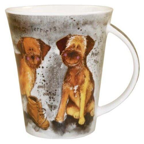 New Churchill Alex Clark Delightful Doodles Labradoodle Dog Fine China Gift Mug