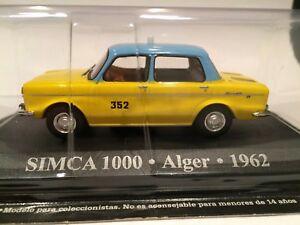 SIMCA-1000-ALGER-1962-TAXI-SCALE-1-43-ALTAYA