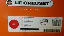 NEW Le Creuset Signature Goose Pot Cherry Red 15 1/2 15.5 Quart Oval