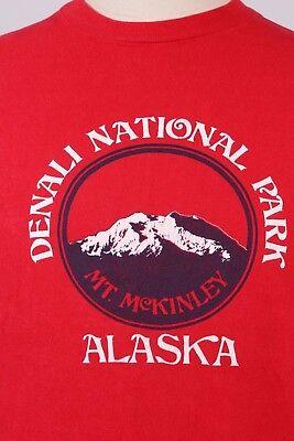 Denali National Park Alaska Sweatshirt Distressed
