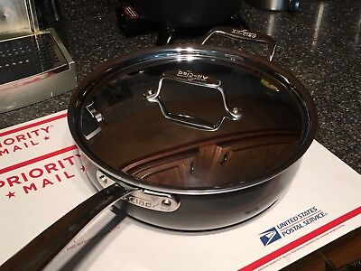 All Clad 4 Qt Ltd Almost 4 Deep Saute Pan New Without Box