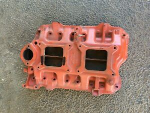 Mopar-318-Poly-Block-Dual-Quad-Intake-2X4-Two-Four-Manifold-Dodge-Plymouth